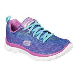 Girls' Skechers Skech Appeal Prancy Dance Training Sneaker Blue/Purple