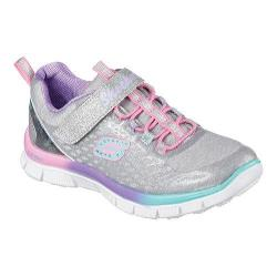 Girls' Skechers Skech Appeal Sparktacular Sneaker Silver/Multi