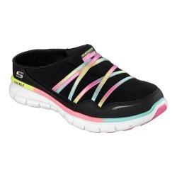 Women's Skechers Synergy Air Streamer Sneaker Clog Black/Multi