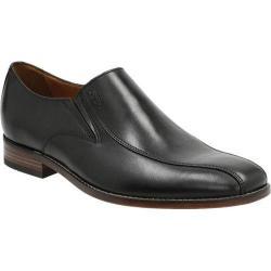 Men's Bostonian Narrate Step Slip-On Black Leather