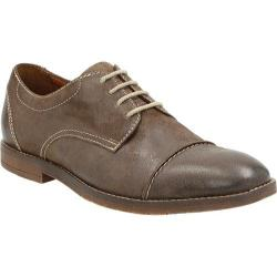 Men's Bostonian Verner Cap Toe Derby Dark Brown Leather