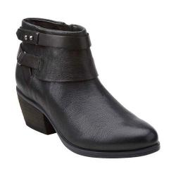 Women's Clarks Gelata Freeza Ankle Boot Black Leather