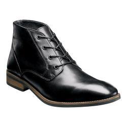 Men's Nunn Bush Hawley Chukka Boot Black Leather