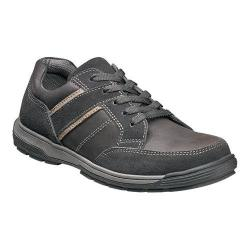 Men's Nunn Bush Layton Sport Oxford Charcoal Leather/Suede