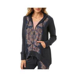 Women's O'Neill Dash Zip Up Fleece Hoodie Midnight