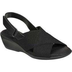 Women's Aerosoles Badlands Black Elastic