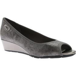 Women's Anne Klein Camrynne Wedge Pewter Multi Fabric