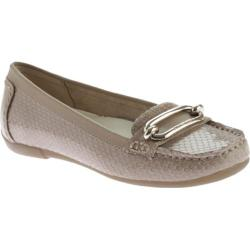Women's Anne Klein Noris Loafer Medium Taupe/Medium Taupe Reptile