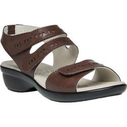 Women's Propet Keeley Sandal Chocolate Leather