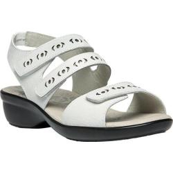Women's Propet Keeley Sandal Ivory Leather