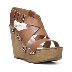 Women's Fergalicious Libby Sandal Tan Synthetic Leather