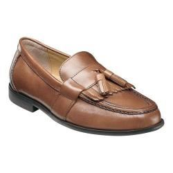 Men's Nunn Bush Keaton 84198 Moc Toe Kiltie Tasseled Slip On Saddle Tan Leather