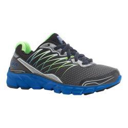 Boys' Fila Countdown 2 Running Shoe Black/Prince Blue/Green Gecko