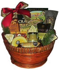 Classic Cheese, Meat and Nut Gift Basket