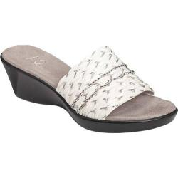 Women's A2 by Aerosoles Say Yes White Combo Faux Leather