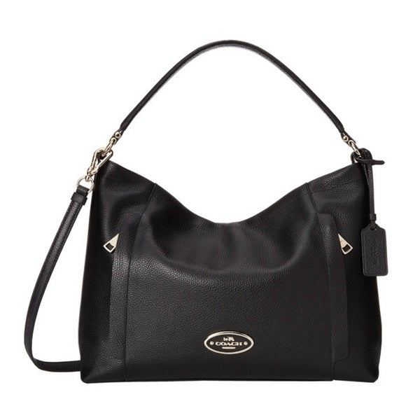 Coach Scout Pebbled Leather Hobo Bag