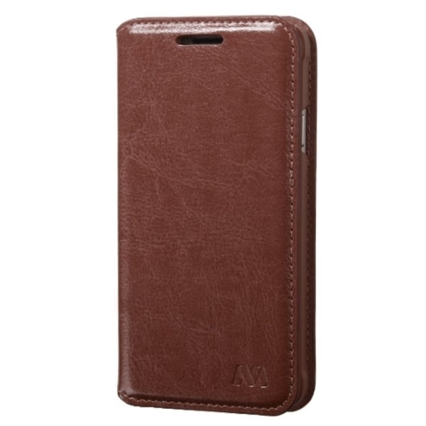 INSTEN Folio Flip Leather Wallet Flap Pouch Phone Case With Stand For Samsung Galaxy Alpha SM-G850A AT&T/ SM-G850T T-Mobile