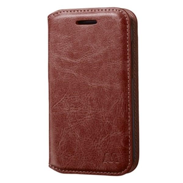 INSTEN Folio Flip Leather Wallet Flap Pouch Phone Case With Stand For Alcatel One Touch Evolve 2