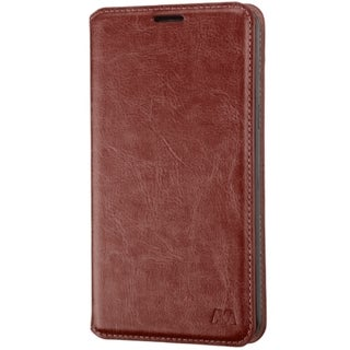 INSTEN Folio Flip Leather Wallet Flap Pouch Phone Case With Stand For Samsung Galaxy Mega 2