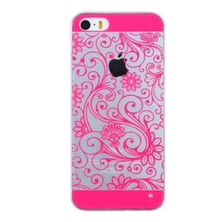 INSTEN Plain TPU Rubber Candy Skin Phone Case Cover For Apple iPhone 5/ 5S