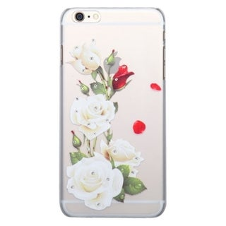 INSTEN Rubberized Hard Slim Snap-on Phone Case Cover With Diamond For Apple iPhone 6 Plus