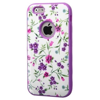 INSTEN Verge Dual Layer Hybrid Rubberized Hard PC/ Soft Silicone Phone Case Cover For Apple iPhone 6
