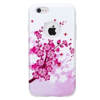 INSTEN Dual Layer Hybrid Rubberized Hard PC/ Soft Silicone Phone Case Cover For Apple iPhone 6