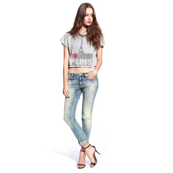 Anladia Women's Skinny Stretchy Denim Jeggings Jeans