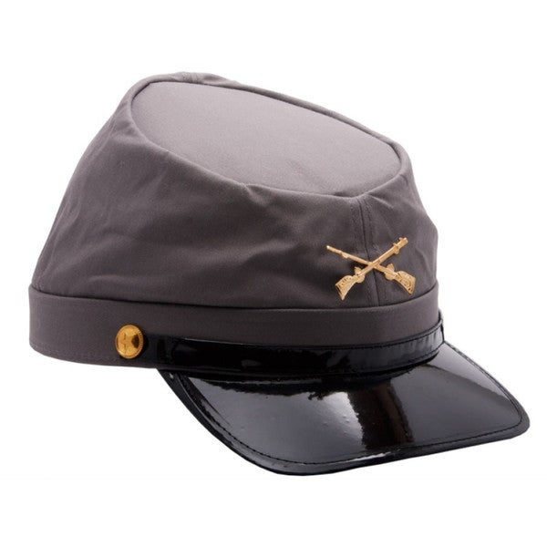 Civil War Confederate Army Costume Hat