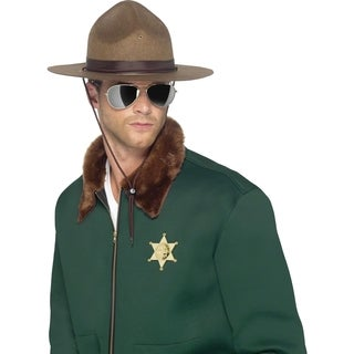 Adult Brown Sheriff Costume Hat