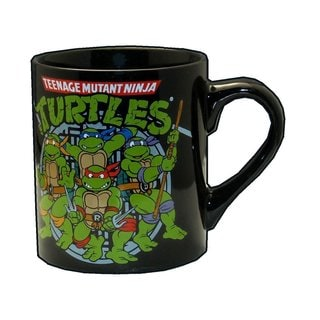 Teenage Mutant Ninja Turtles 14-ounce Black Printed Coffee Mug