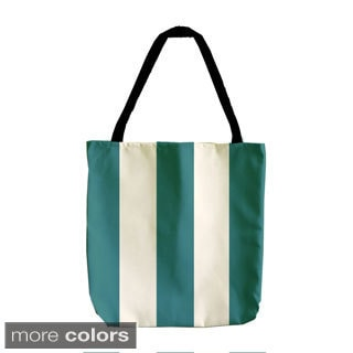 Holiday Wide Stripe 18-inch Tote Bags