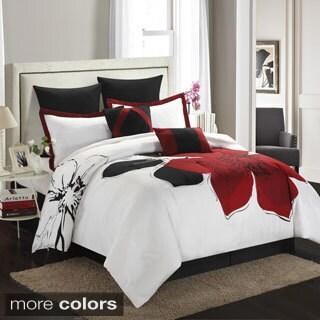 Bloom Comforter Collection Fleur 8-piece Comforter Set