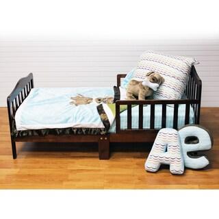 Puppy Pal Boys' Blue 4-piece Quilt Set