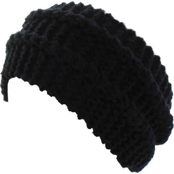 Kate Marie 'Dina' Cable Knit Headband Beanie