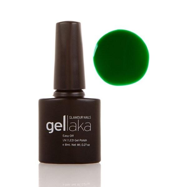 Gellaka New York, NY Green Gel Polish