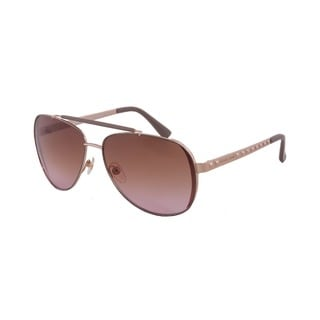 Michael Kors Women's M2064S Kendall Aviator Sunglasses