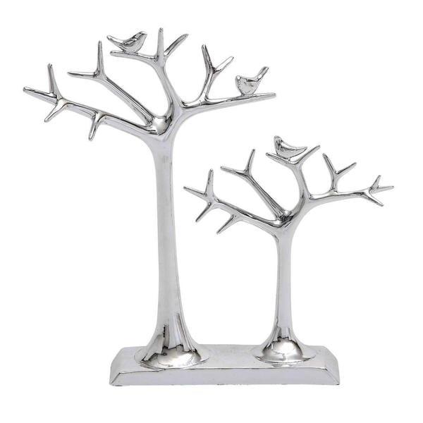 Silvertone Tree Ring Holder