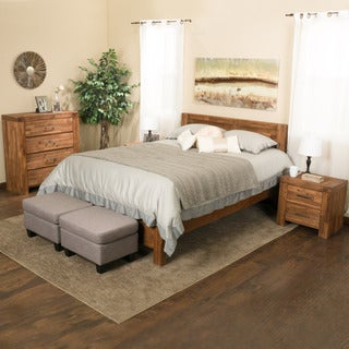 Christopher Knight Home Montero 4-piece Wood Bedroom Set