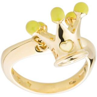 Bvlgari 'Pasquale Bruni' 18K Yellow Gold Crown Ring