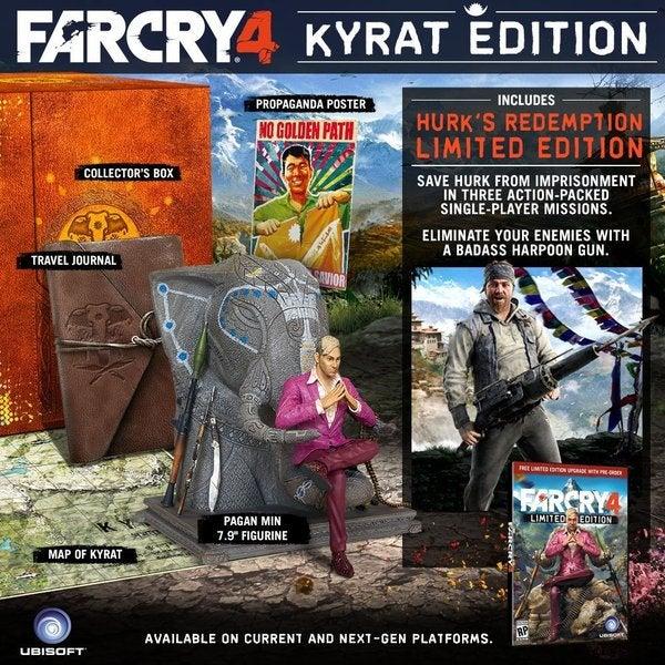PS4 - Far Cry 4 Kryat Edition 14761917