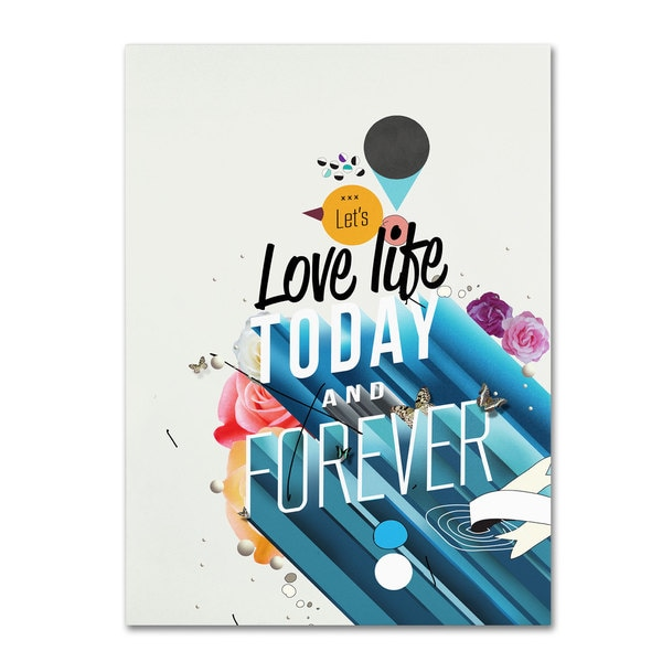 Kavan & Co 'Everything Forever' Canvas Art