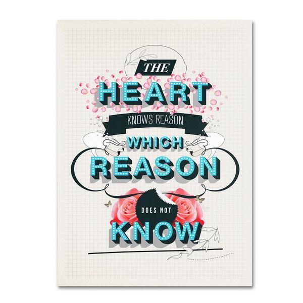 Kavan & Co 'The Reason' Canvas Art