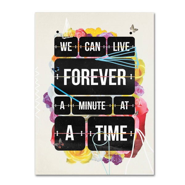 Kavan & Co 'Time of Your Life' Canvas Art