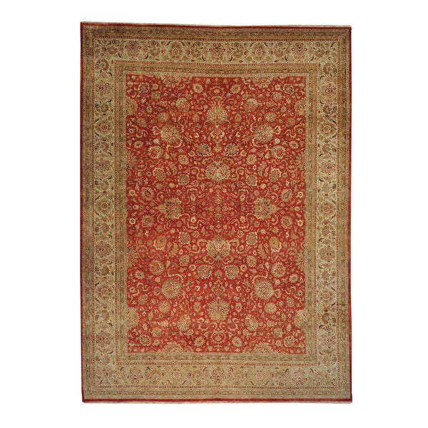 Pak Persian Wool Hand-knotted Oriental Rug (10' x 13'9)