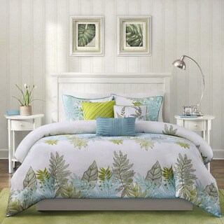 Madison Park Palomar 6-piece Cotton Printed Duvet Cover Set