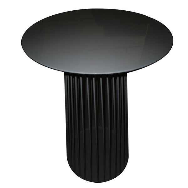 Aurelle Home Magma Black Bar Table