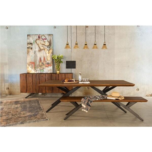 Aurelle Home Solid Wood Loft Sideboard