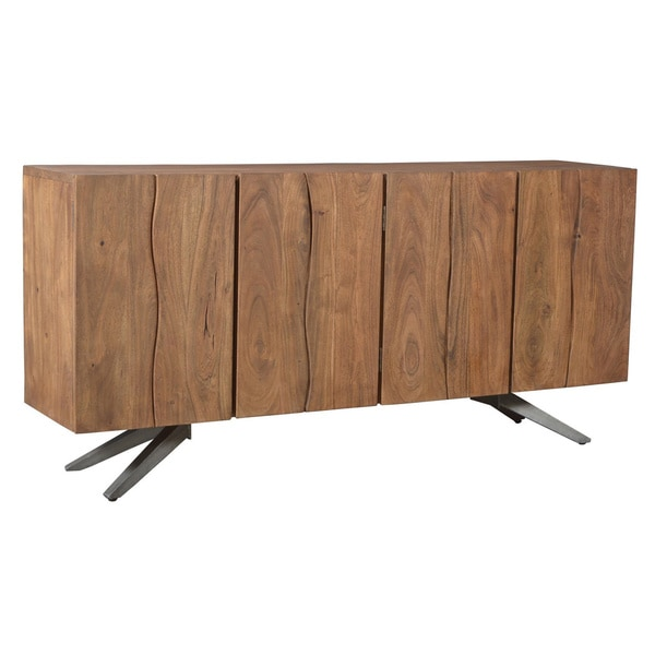 Aurelle Home Solid Wood Loft Sideboard