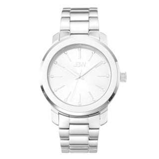 JBW Women's 'Scarlett' Diamond Accent Silvertone Watch